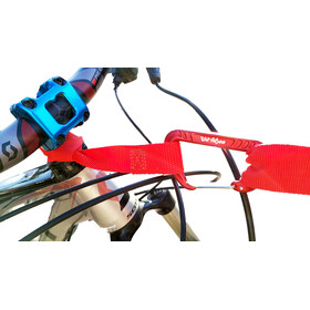 TowWhee Quick Loop Strap with Mini Carabiner red
